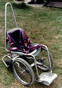 Swiss paragliding wheelchair