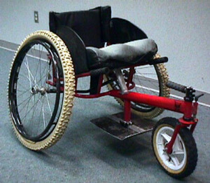 Canadian paragliding wheelchair