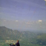 French wheelchair paragliding featuring the Fauteuil Cage control system