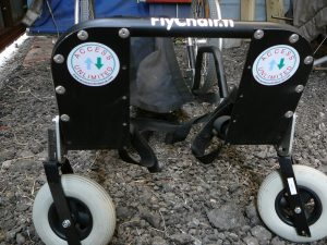 The Flyability Flychair buggy with stickers from Access Unlimited